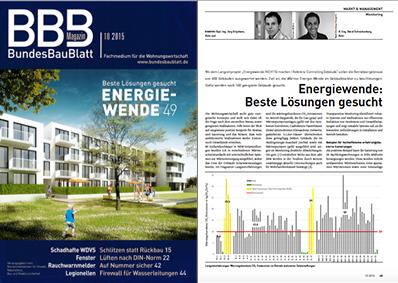 BundesBauBlatt – Energiewende