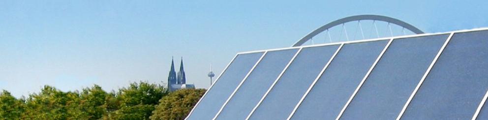 Köln Solarthermie Dach